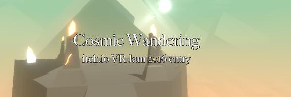 Cosmic Wandering